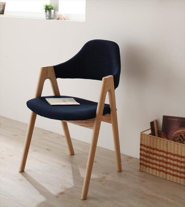 天然木タモ無垢材ダイニング【Cyfri】シフリ ハイタイプチェア(2脚組)  「北欧 天然木 ダイニングチェア チェア 椅子 いす」