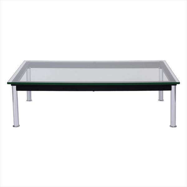ル・コルビジェ LC10 120 ローテーブル Le Corbusierローテーブル ガラス製 ル・コルビジェ デザイナーズ家具 可能テーブル