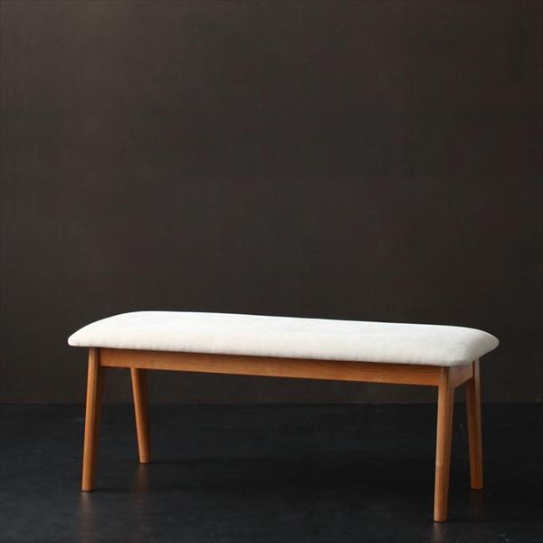 天然木ブラックチェリー材 北欧デザインダイニング【EASE】イース/ベンチ  「天然木 北欧 デザイナーズチェア ダイニングベンチ 椅子 イス 」
