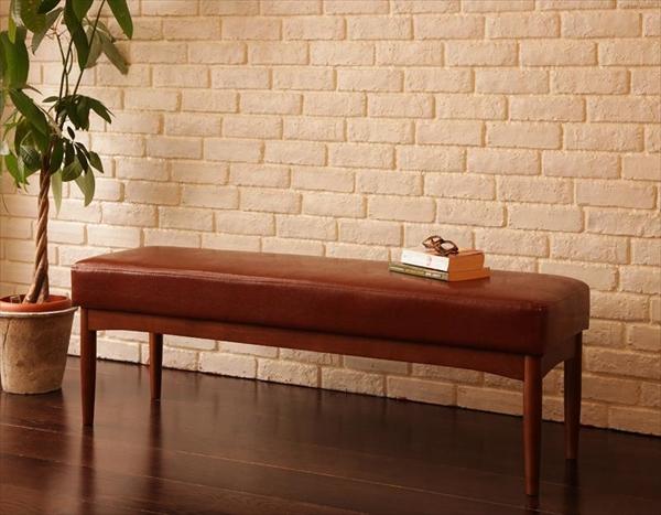 レトロモダンカフェテイスト リビングダイニングセット BULT ブルト ベンチ 2P 単品  「家具 ダイニング ベンチ いす」