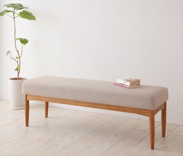 コンパクトリビングダイニングセット Roche ロシェ ベンチ 2P 単品  「家具 ダイニング ベンチ いす」