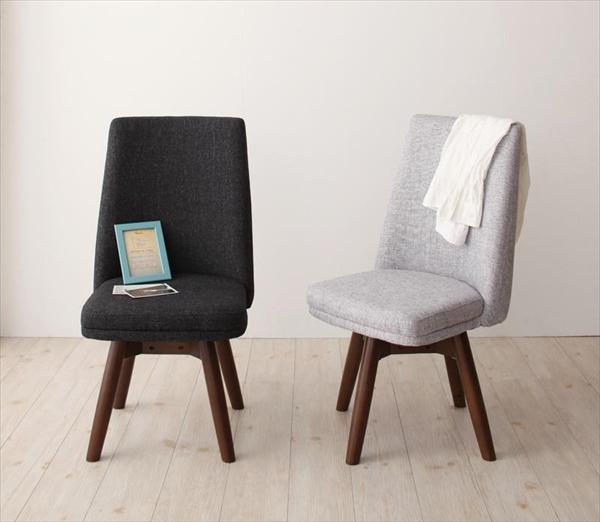 北欧デザイン らくらく回転チェアダイニング【Cura】クーラ/回転チェア2脚組 「回転チェア ダイニングチェア 椅子 イス 」