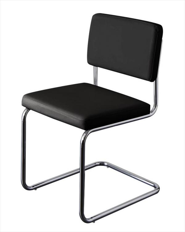 スライド伸縮テーブルダイニング【Blade】ブレイド/スチールデザインチェア(2脚組)  「ダイニングチェア チェア 肌触り ソフトレザー 疲れにくい 座り心地 いす イス 椅子」