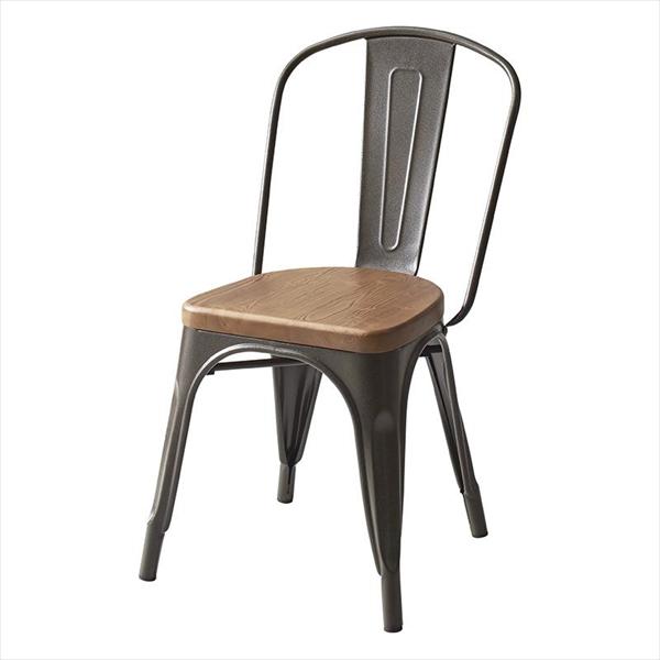 ヴィンテージカフェスタイルソファダイニング 【Towne】 タウン ダイニングチェア 1脚 スチールチェア チェア単品 ダイニングチェア チェア 椅子