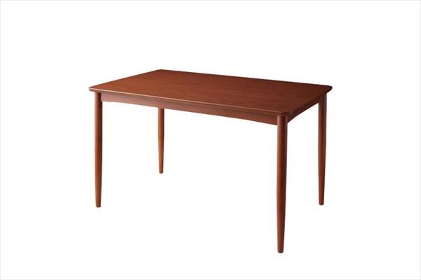 リビングでもダイニングでも使える ソファベンチ A-JOY エージョイ ダイニングテーブル ブラウン W120   テーブルW120 単品 家具 インテリア 北欧スタイル 天然木 ダイニングテーブル