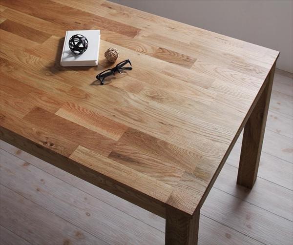 総無垢材ワイドダイニング 【Cursus】 クルスス ダイニングテーブル オーク W160 テーブルW160 「北欧 天然木 総無垢材 ダイニングテーブル テーブル」