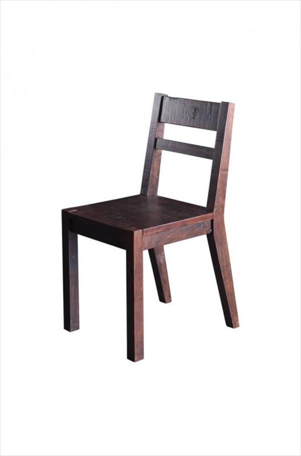 期間限定 古木風ヴィンテージダメージ加工ダイニング Zinnia ジーニア ダイニングチェア 2脚組 「家具 インテリア ダイニングチェア チェア 椅子 いす 」