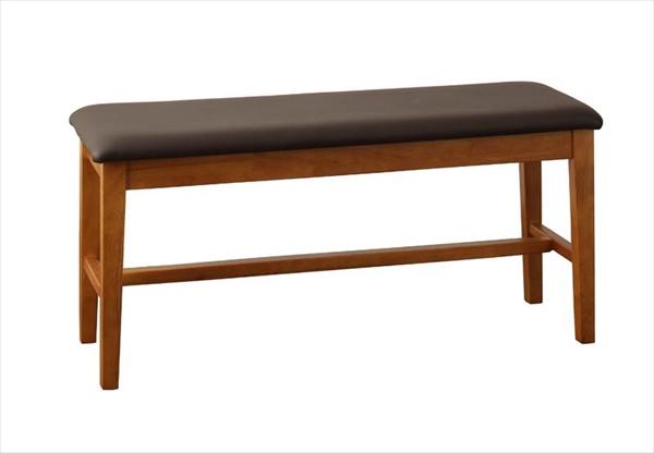 天然木モダンデザインダイニング alchemy アルケミー ベンチ 2P 単品  「天然木 アカシア材 北欧 ベンチ 2人掛け 長椅子 座面PVC 玄関に 腰掛けや、荷物置き」