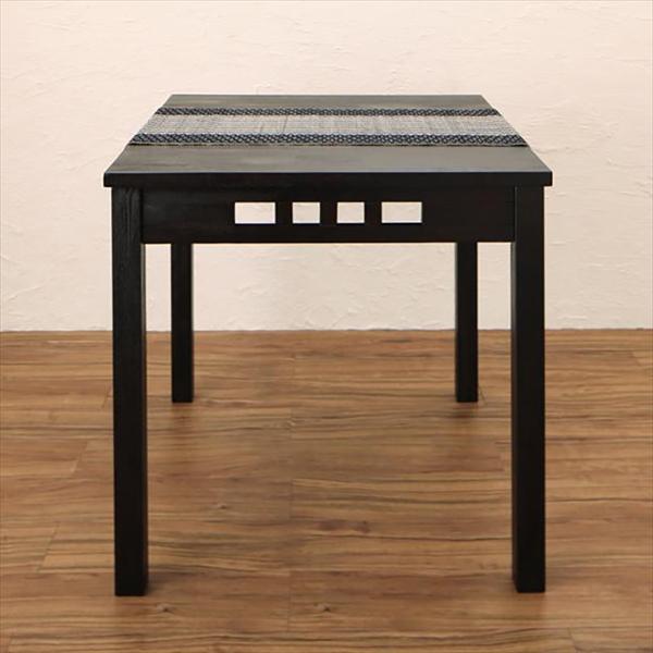 アジアンモダンダイニングセット Kubera クベーラ ダイニングテーブル W76 「アジア家具 アジアンシリーズ モダン テーブル 」