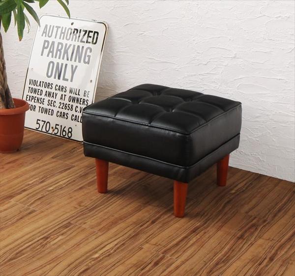 古木風 ヴィンテージ カフェスタイル リビングダイニング TOLD トルド スツール 1P  単品 スツール 椅子 1人掛け レザー生地 水に強く