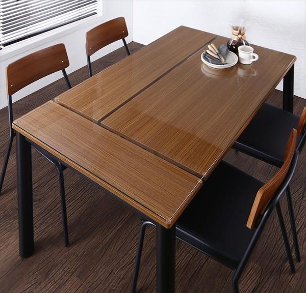 異素材ミックスカフェスタイルダイニング paint ペイント ダイニングテーブル W130 「北欧 家具 お洒落なカフェ風 ダイニング テーブル 」