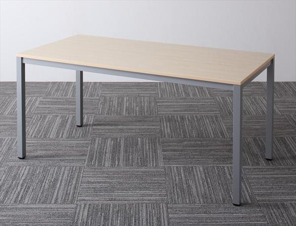 ミーティングテーブル&スタッキングチェアセット Sylvio シルビオ オフィステーブル W150 単品   「オフィス家具 多目的テーブル ダイニングテーブル」