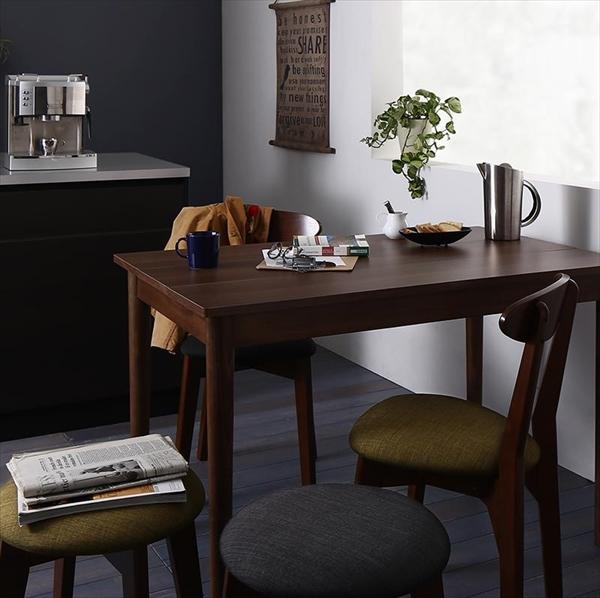 カフェ ヴィンテージ ダイニング Mumford マムフォード 3点セット(テーブル+チェア2脚) ブラウン W115   「モダン ダイニング3点セット ダイニングテーブル デザインチェア 木目 美しい チェア いす」