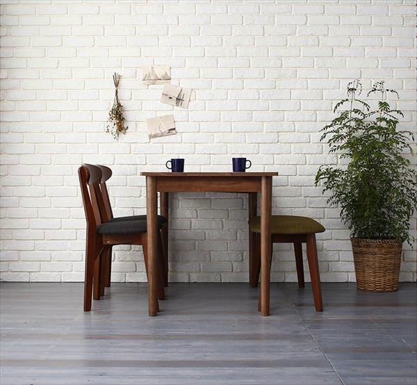 カフェ ヴィンテージ ダイニング Mumford マムフォード 4点セット(テーブル+チェア2脚+ベンチ1脚) ブラウン W115   「モダン ダイニング4点セット ダイニングテーブル デザインチェア 木目 美しい チェア ベンチ いす」