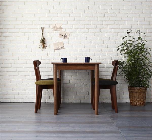 カフェ ヴィンテージ ダイニング Mumford マムフォード 5点セット(テーブル+チェア2脚+スツール2脚) ブラウン W115   「モダン ダイニング5点セット ダイニングテーブル デザインチェア 木目 美しい チェア スツール いす」