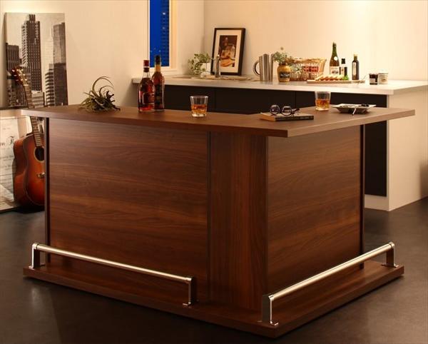 収納付き本格バースタイル間仕切りカウンターダイニングセット Belck ベルク カウンターテーブル L字タイプ W110+W120  「家具 インテリア キッチン収納 スッキリ 整理整頓 高級感 カウンターテーブル」