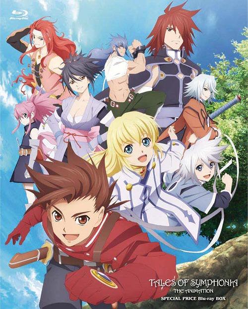 OVA「テイルズ オブ シンフォニア THE ANIMATION」 スペシャルプライス Blu-ray BOX[Blu-ray] / アニメ
