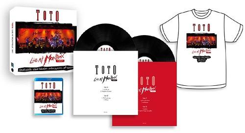 ライヴ・アット・モントルー1991 [Blu-ray+CD+2LP+Tシャツ完全生産限定版][Blu-ray] / TOTO / ※ゆうメール利用不可