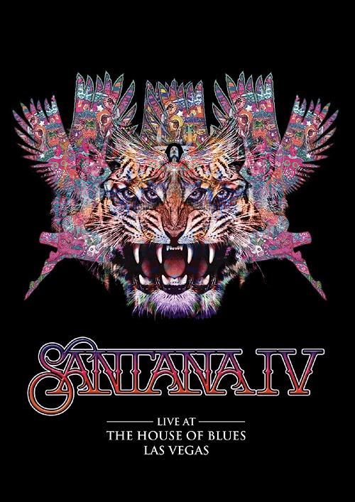 サンタナIV ライヴ・アット・ザ・ハウス・オブ・ブルーズ [Blu-ray+2CD+Tシャツ (Lサイズのみ)/完全生産限定版][Blu-ray] / サンタナIV