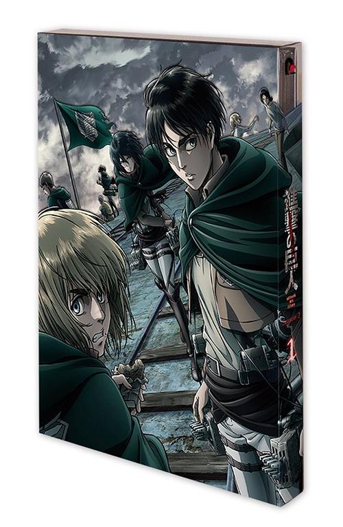 TVアニメ「進撃の巨人」 Season 2 Vol.1[Blu-ray] / アニメ