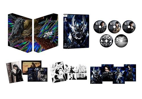 絶狼<ZERO> -BLACK BLOOD- DVD-BOX [4DVD+CD][DVD] / 特撮