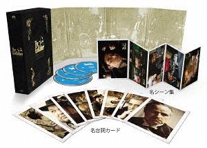 送料無料 ゴッドファーザー 45周年記念ブルーレイBOX 数量限定アウトレット最安価格 TV吹替初収録 初回生産限定 新生活 洋画 特別版 Blu-ray