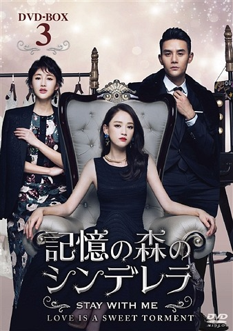 記憶の森のシンデレラ~STAY WITH ME~ DVD-BOX 3[DVD] / TVドラマ