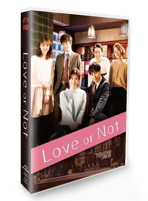 Love or Not Blu-ray Box[Blu-ray] / オリジナルV