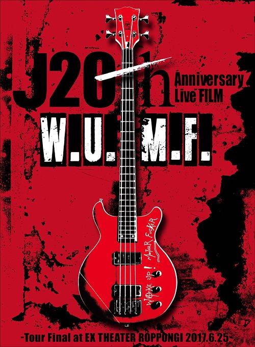 J 20th Anniversary Live FILM [W.U.M.F.] -Tour Final at EX THEATER ROPPONGI 2017.6.25- [2DVD+CD+PHOTO BOOK<SPECIAL BOX SET>] [初回生産限定][DVD] / J