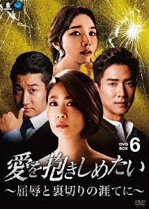 愛を抱きしめたい ~屈辱と裏切りの涯てに~ DVD-BOX 6[DVD] / TVドラマ