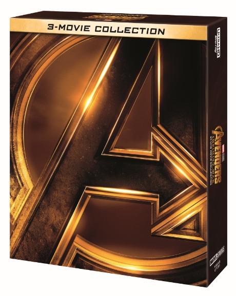 アベンジャーズ/インフィニティ・ウォー 4K UHD ムービー・コレクション [初回限定][Blu-ray] / 洋画