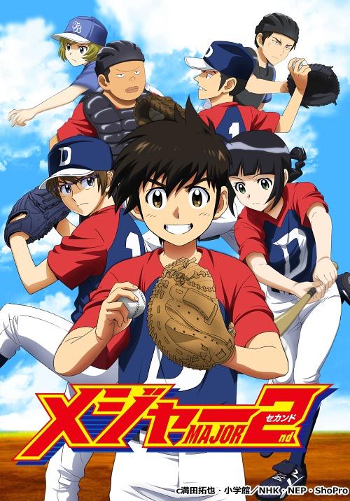 メジャーセカンド DVD-BOX Vol.1[DVD] / アニメ
