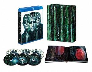 マトリックス トリロジー HDデジタル・リマスター&日本語吹替音声追加収録版 [初回限定版][Blu-ray] / 洋画