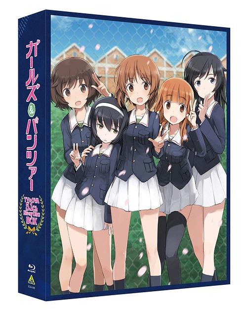 ガールズ&パンツァー TV&OVA 5.1ch Blu-ray Disc BOX [特装限定版][Blu-ray] / アニメ