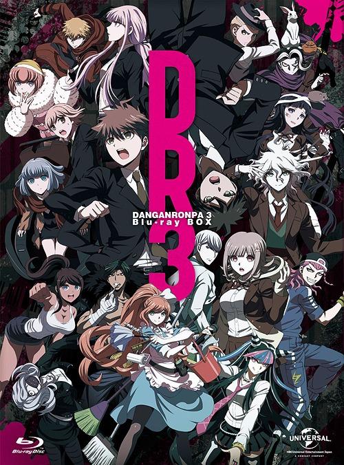 ダンガンロンパ3 -The End of 希望ヶ峰学園- Blu-ray BOX[Blu-ray] / アニメ