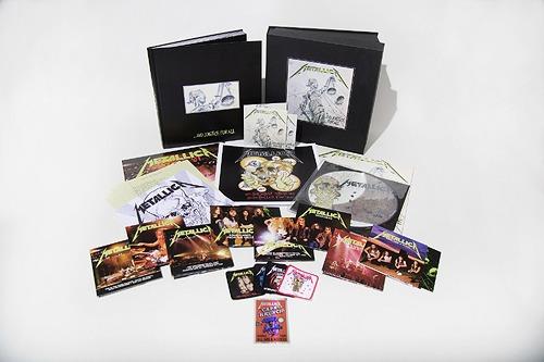 メタル・ジャスティス (リマスター・デラックス・ボックス・セット) [11CD+6LP+4DVD/完全数量限定盤][CD] / メタリカ / ※ゆうメール利用不可