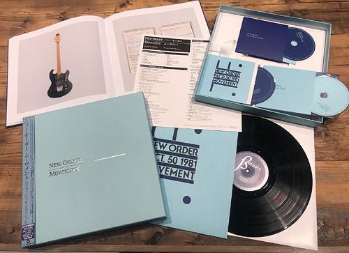 ムーヴメント ディフィニティヴ・エディション [2CD+LP+DVD] [完全生産限定盤][CD] / ニュー・オーダー / ※ゆうメール利用不可