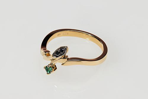 【フリーイング】BANANA FISH Statue and ring style アッシュ・リンクス [gold ring~Only one rose~] 7[グッズ]