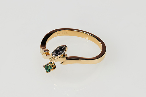 【フリーイング】BANANA FISH Statue and ring style アッシュ・リンクス [gold ring~Only one rose~] 13[グッズ]