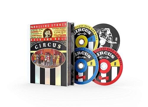 ローリング・ストーンズ・ロック・アンド・ロール・サーカス (LTD. DLX EDITION) [Blu-ray+DVD+2CD/完全限定版] [輸入盤][Blu-ray] / ローリング・ストーンズ