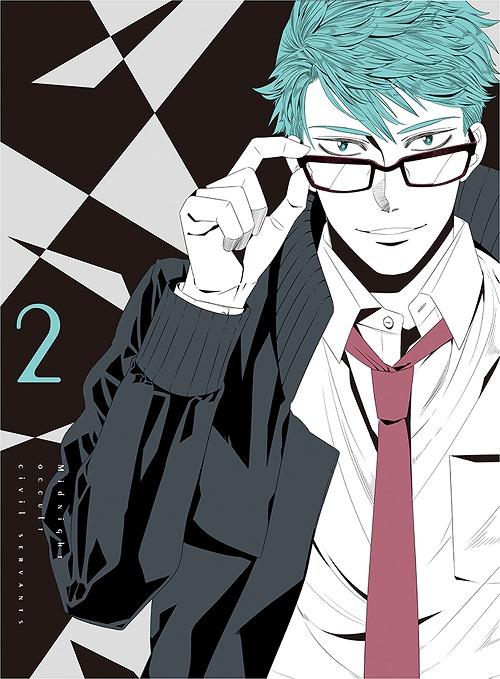 真夜中のオカルト公務員 第2巻[Blu-ray] / アニメ
