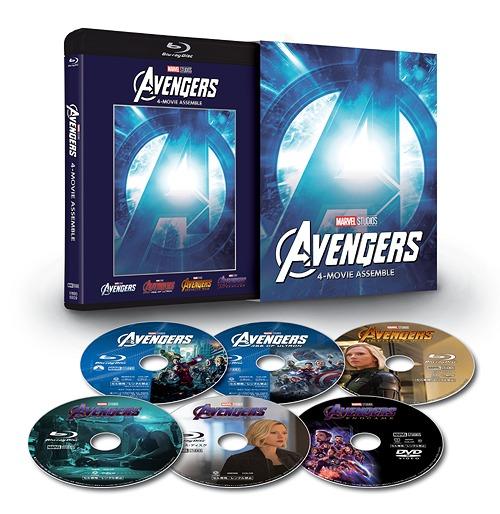 アベンジャーズ : 4ムービー・アッセンブル アベンジャーズ (数量限定)[Blu-ray] :// 洋画, きもの夢あわせ:80093065 --- ww.thecollagist.com