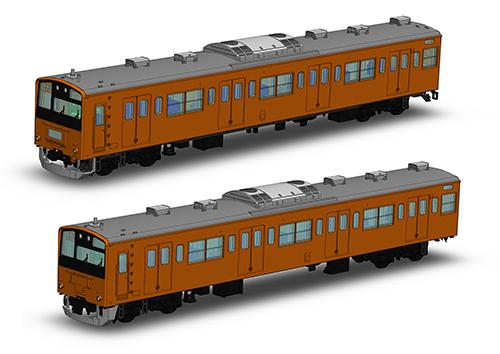 【プラム】1/150スケールプラスチックキット JR東日本201系直流電車(中央線)クハ201・クハ200キット[グッズ] / ※ゆうメール利用不可