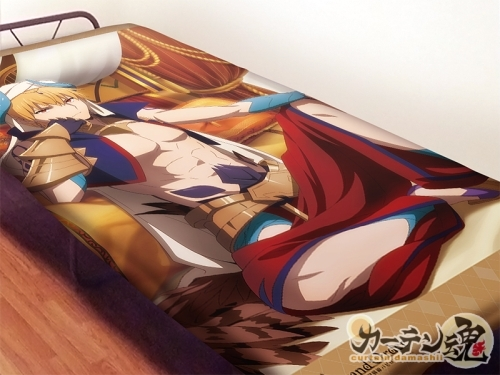 【カーテン魂】Fate/Grand Order -絶対魔獣戦線バビロニア- シーツ ギルガメッシュ[グッズ]