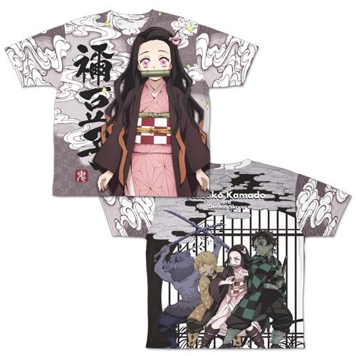 【コスパ】鬼滅の刃 竈門禰豆子 両面フルグラフィックTシャツ L[グッズ]