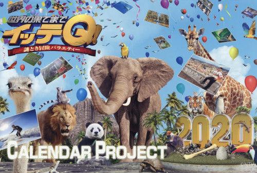 カレンダー '20 イッテQ! 壁掛けタイプ
