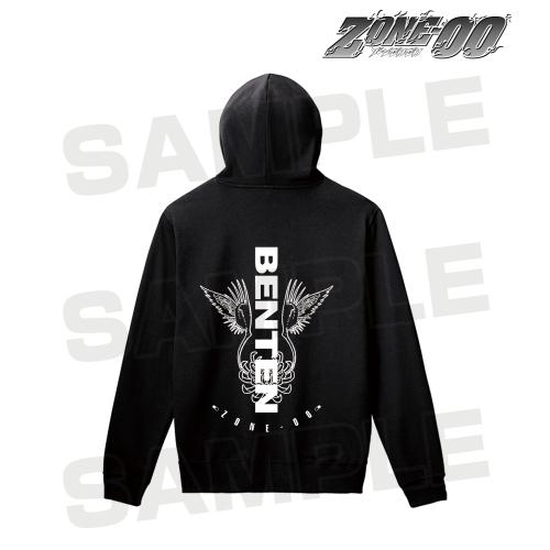 【アルマビアンカ】ZONE-00 弁天 バックプリントパーカー メンズ S[グッズ]