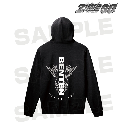 【アルマビアンカ】ZONE-00 弁天 バックプリントパーカー メンズ M[グッズ]