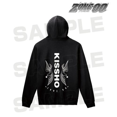 【アルマビアンカ】ZONE-00 吉祥 バックプリントパーカー メンズ XL[グッズ]