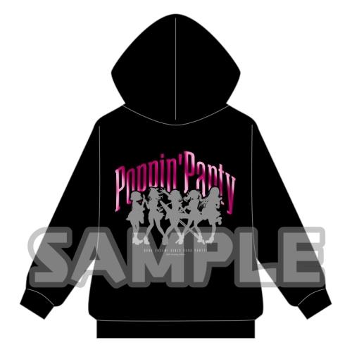 【ブシロードクリエイティブ】BanG Dream! ガールズバンドパーティ! 箔プリントジップアップパーカー Poppin' Party (XL) XL[グッズ]